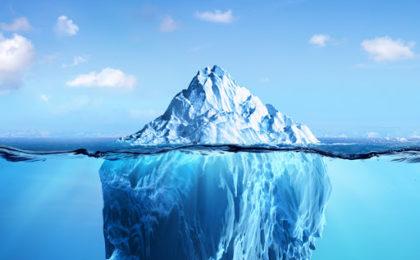 Le succès comme un iceberg
