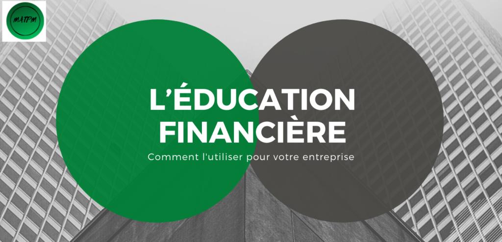 Education financière pour l'entreprise